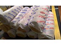 4 rolls of unused Superglass thermal loft insulation.