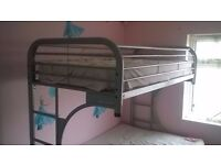 Double bed bunk bed