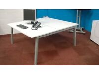 Bench desks Pods of 2 or 4 10 desks in stock