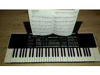 Retro 80 jvc Elictriconic stereo keyboard KB _700 complete with cables