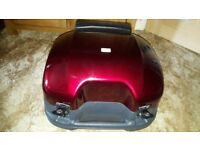 Honda st1100 candy red top box