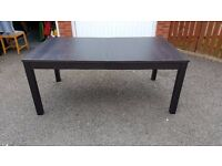 Ikea BJURSTA Extending Table 175cm - 260cm FREE DELIVERY (02095)