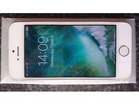 Apple Iphone 5s 16GB Silver Sim Lock EE, ORANGE,T-MOBILE