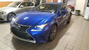 2015 Lexus RC 350 F SPORT SERIES 2 AWD LOW MILLAGE, WINTER TIRES