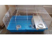 Large indoor Rabbit hutch (Blue) near new