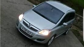 Vauxhall zafira elite 1.9 cdti 7 seats