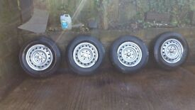 Mitsubishi l200 4x wheel with tyres