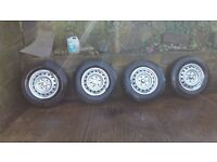Mitsubishi l200 4x wheel with tyres