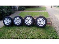 Van tyres 205/65/16 C VW transporter T5