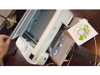 HP Photosmart C4480 all in one printer, scanner, copier, white