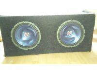 Offers Quick Sale /X 2 Kenwood speakers in base tube & GTO 600 watt AMP Offers