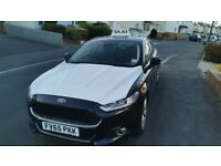 Ford, MONDEO,black/white taxi Hatchback, 2016, Semi-Auto, 1997 (cc), 5 doors
