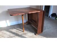 Vintage folding dinning room table