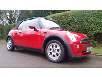 MINI CONVERTIBLE 1.6 Cooper 2dr (red) 2005
