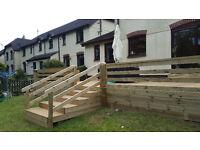 Decking, Landscaping, Fencing, Painting, Garden Design, Interial Desing, Carpenter