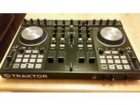 Native Instruments Traktor S4 mk2 with Traktor pro 2 and serials