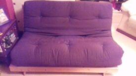 Rarely used futon