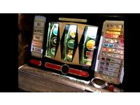Wanted, old signs, penny machines,pinball, one armed bandit, jukeboxs, fairground ect