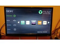 24 inch Smart TV - perfect for a bedroom TV. Seiki 24HO01UK