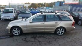 2003 (03 reg) Mercedes-Benz C Class 2.0 5dr Estate FOR £595 SOLD WITH 12 MONTHS MOT