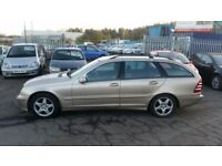 2003 (03 reg) Mercedes-Benz C Class 2.0 5dr Estate FOR £595 SOLD WITH 12 MONTHS MOT