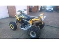 quadbike, road legal Can am ds 450, not raptor