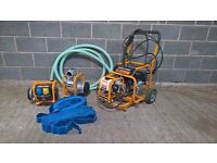 EVOLUTION EVO System – 3 x attachments: Pressure washer, Power pump, Electricity generator