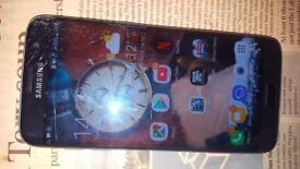 Used Samsung S7 Egde - Black