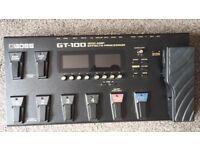 Boss GT-100 Effects Processor.