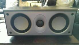 Mordaunt Short Centre Speaker MS304 Black Ash