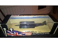 Thrust SSC The Worlds First Supersonic Car Die Cast Model -On stand, Boxed and Signed