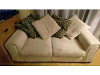 DFS LARGE 2 SEATER SOFA BED