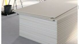 PLASTERBOARDS IN THE BEST PRICE IN UK STANDAR, FIRE RATED, MOISTURE RESISTANT PLASTERBOARDS CHECK US