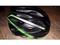Spiuk Keilan Bike Cycling Helmet, brand new, black/green, size M/L, 57cm-61cm, 220g, new model