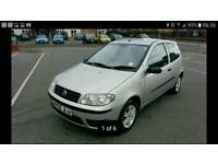 2005 FIAT PUNTO 1.2 IN SILVER WITH M.O.T, IN GREAT CONDITION
