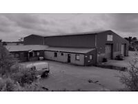 Availabe for Lease Commercial Building/Workshop, Office and Yard Facility