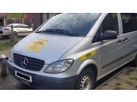 2010-Mercedes VITO 111 CDI LONG Minibus-Manual-Diesel-Clean-Perfect Condition-Call aftr 6pm weekdays