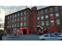 Stockfield Mill Oldham Chadderton Large Small Units to let with great security short or long term