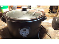 5.5 L NUO electric slow cooker