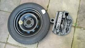 Ford fiesta spare wheel kit