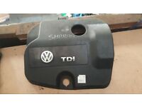 2004 VW SHARAN SEAT ALHUMBRA 1.9 TDI 7M3103925 DIESEL ENGINE PLASTIC COVER CASE LHR £40