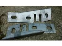 Navara D40 chassis strengthening plates