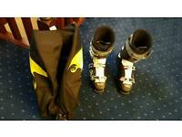 Rossignol Skis & Technika Ski boots