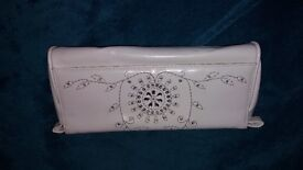 White clutch handbag - Open to offers