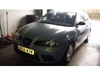 seat ibiza blue lady owner motorway miles 133379 8 years her drive