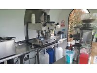 FOR SALE: Catering Pod/Coffee Shop (Mobile Trailer) - Full Business with all existing Bookings