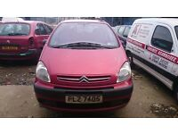 2004 CITROEN PICASSO XSARA, 2LT DIESEL, BREAKING FOR PARTS ONLY, POSTAGE AVAILABLE NATIONWIDE