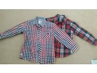 Jasper Conran/Gap boys shirts 5-6