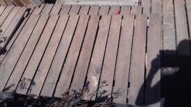 Timber for sale fence panels or decking