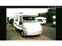 Motorhome front cover